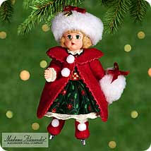 madame hallmark ornaments