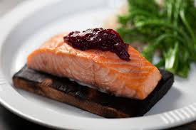 recipe for fried camembert with cranberry sauce delicious and gorgeous salmon fillets with cranberry sauce is easy