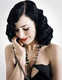 pin curl pin curls glamorous hair of the roaring forties chic vintage