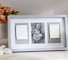Pottery Barn Picture Frame Lacquer Handprint And Footprint Triptych Frame Pottery Barn Kids