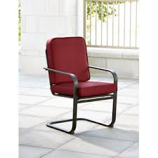 Red Rocking Chairs Essential Garden Bisbee Set Of 4 Dining Chairs Red Limited