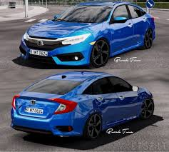 honda civic type r 2017 2017 honda civic typer civic fc5 ets 2 mods
