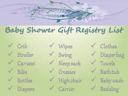 baby gift registry what should i put on my baby registry hubpages