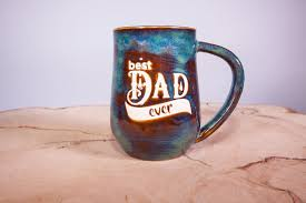 best large coffee mugs best dad ever handmade pottery coffee mug large coffee mug fathers