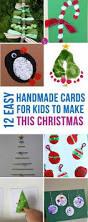 homemade christmas cards potato print finger print and googly eyes