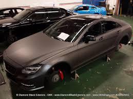 mercedes jeep 2016 matte black mercedes benz cls550 by dbx wrapped in frozen grey matte metallic