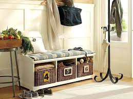 unique entryway storage bench with coat rack unique entryway