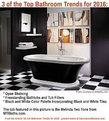 20 bathroom trends for 2016 u2013 decorator u0027s wisdom