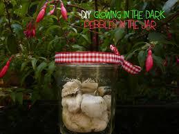 glow in the pebbles diy glowing in the pebbles in the jar