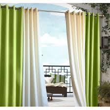 gazebo indoor outdoor grommet top curtain panel free on orders over 45 com 14234349