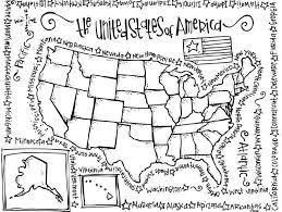 united states with alaska and hawaii free map free blank map us