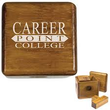Resume Paper Weight Promotional Wooden Paperweight Puzzle Box Customized Wooden
