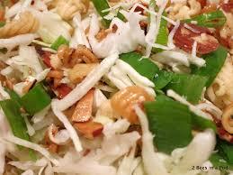 fumi salad 2 bees in a pod