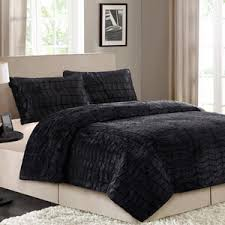 Faux Fur Comforter Set King King Size Brown Http Www Walmart Com Ip Better Homes And