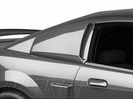 mmd mustang quarter window scoops pre painted 71314 99 04 all