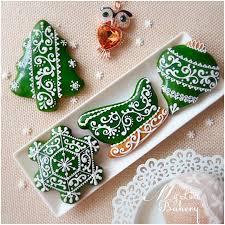 christmas cookies by nadia kalinichenko cakes u0026 cake decorating