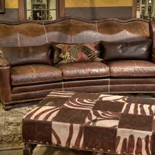 Living Rooms With Brown Leather Furniture Living Room I Fort Worth Tx I Western I Brumbaugh U0027s Fine Home