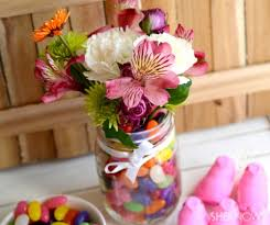 Candy Vases Centerpieces 11 Easy Diy Easter Centerpieces Shelterness