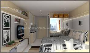 Design interior apartment type studio  Paulgraha Design