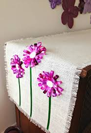 how to make home decor crafts 201 best flower making tutorials images on pinterest flower