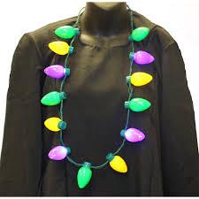 buy multi function light up bulb mardi gras necklace cappel s cinci