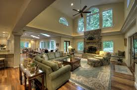 Living Room And Family Room Combo by Additions