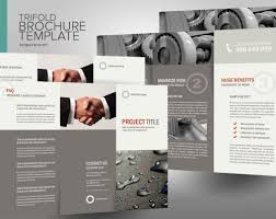 30 contoh desain brosur lipat tiga 28 trifold brochure templates