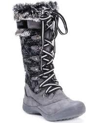 womens grey boots size 11 deal alert muk luks gwen s waterproof winter boots size