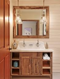 aspen mountain modern rustic bathroom houston by laura u inc