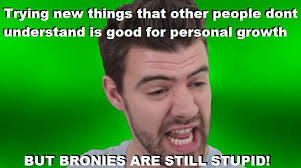 Bronies Meme - doublethink meme