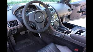 aston martin cars interior 2016 aston martin vanquish interior youtube