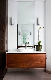 amazing dry sink vanity interesting ideas with stone wall wood