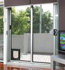 Patio Door With Pet Door Built In New Patio Door With Pet Door Built In And 18 Sliding Door With Pet