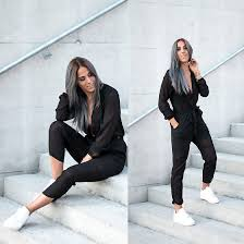 nike jumpsuit for alison liaudat h m jumpsuit nike air one black grey