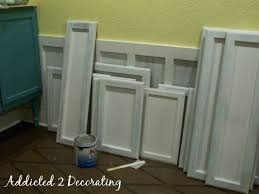 how to turn cabinets into shaker style turn raised panel cabinet doors into recessed panel doors