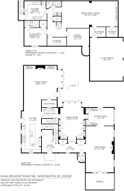 Floor Plan Of A House With Dimensions Tour The House Obama Will Live In After He Moves Out Of The White