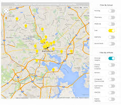 Umd Campus Map Interactive Map Um Of Social Work University Of