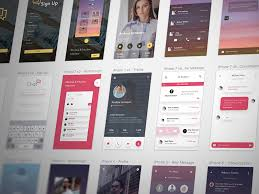 free sketch ui kits for iphone android and material design