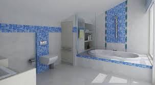 gray and blue bathroom ideas bathroom blue white gray contras rug bathroom bath rugs tiles wall