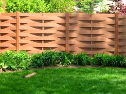 Country Backyards Decoration Picturesque Types Fences Backyard Different Wood