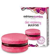 zumbo baking choc raspberry macarons