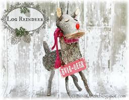 log reindeer bliss ranch log reindeer