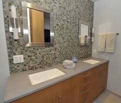glass tile backsplash ideas bathroom modest modest glass tile backsplash in bathroom 81 best bath