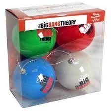 big theory ornament and collection
