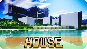 Modernhouse by Minecraft Large Modern House Fully Furnished Home Youtube