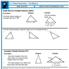 8 1 angle relationships in triangles and parallel lines gr 9 math