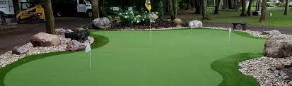 putting green for backyard outdoor goods