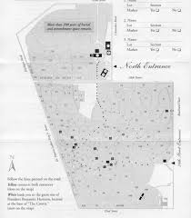 Map Indianapolis Index Of Bair Hughes Burial Sites Crown Hill Cemetery