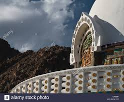 shanti stupa in leh a japanese gift to ladakh to commemorate 2500