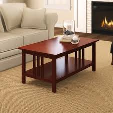 Craftsman Coffee Table Craftsman Style Coffee Table Wayfair